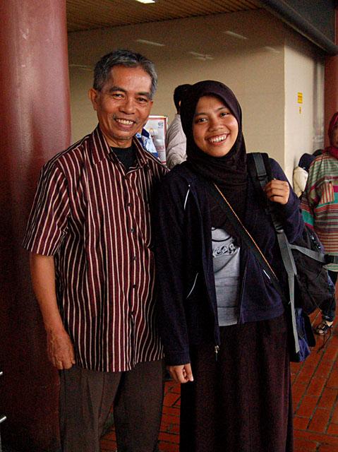 Foto terakhir, waktu mengantar ke Bandara Soekarno Hatta bulan Maret yang lalu