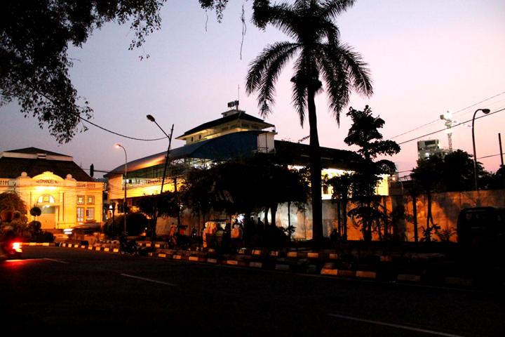 Salah satu sudut di Alun-alun Bandung