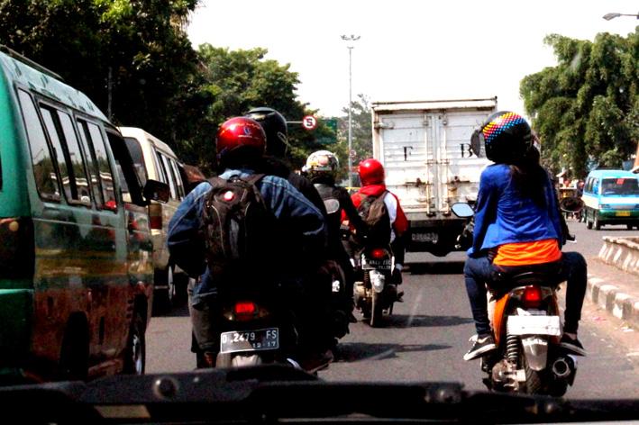 Menikmati macetnya Bandung