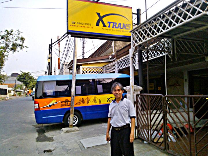 Siap menuju Bandung dengan XTrans