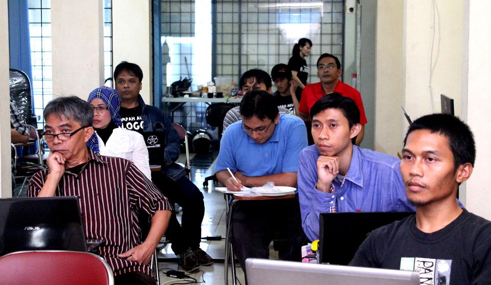 Sebagian peserta workshop