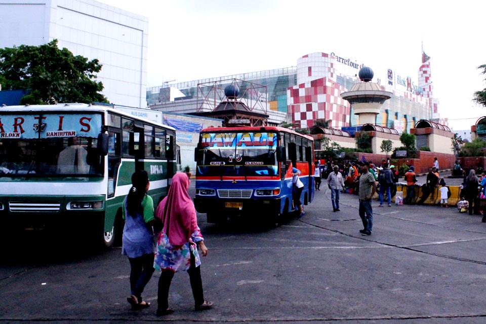 Terminal bus Blok M
