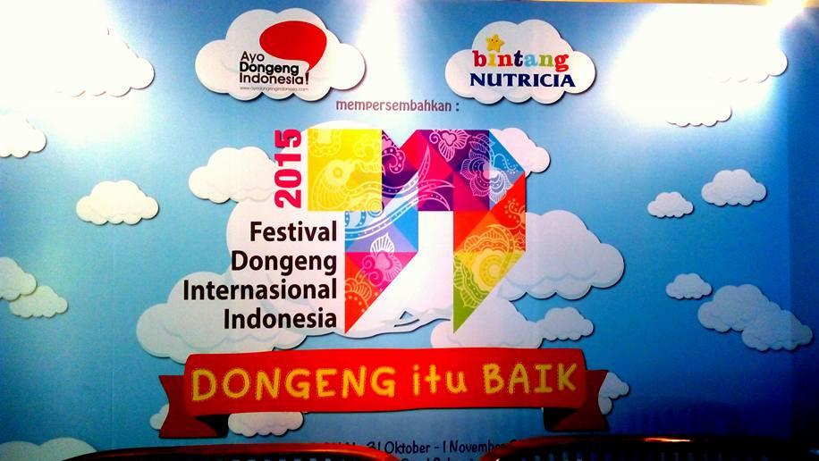 Banner Festival Dongeng Internasional Indonesia 2015